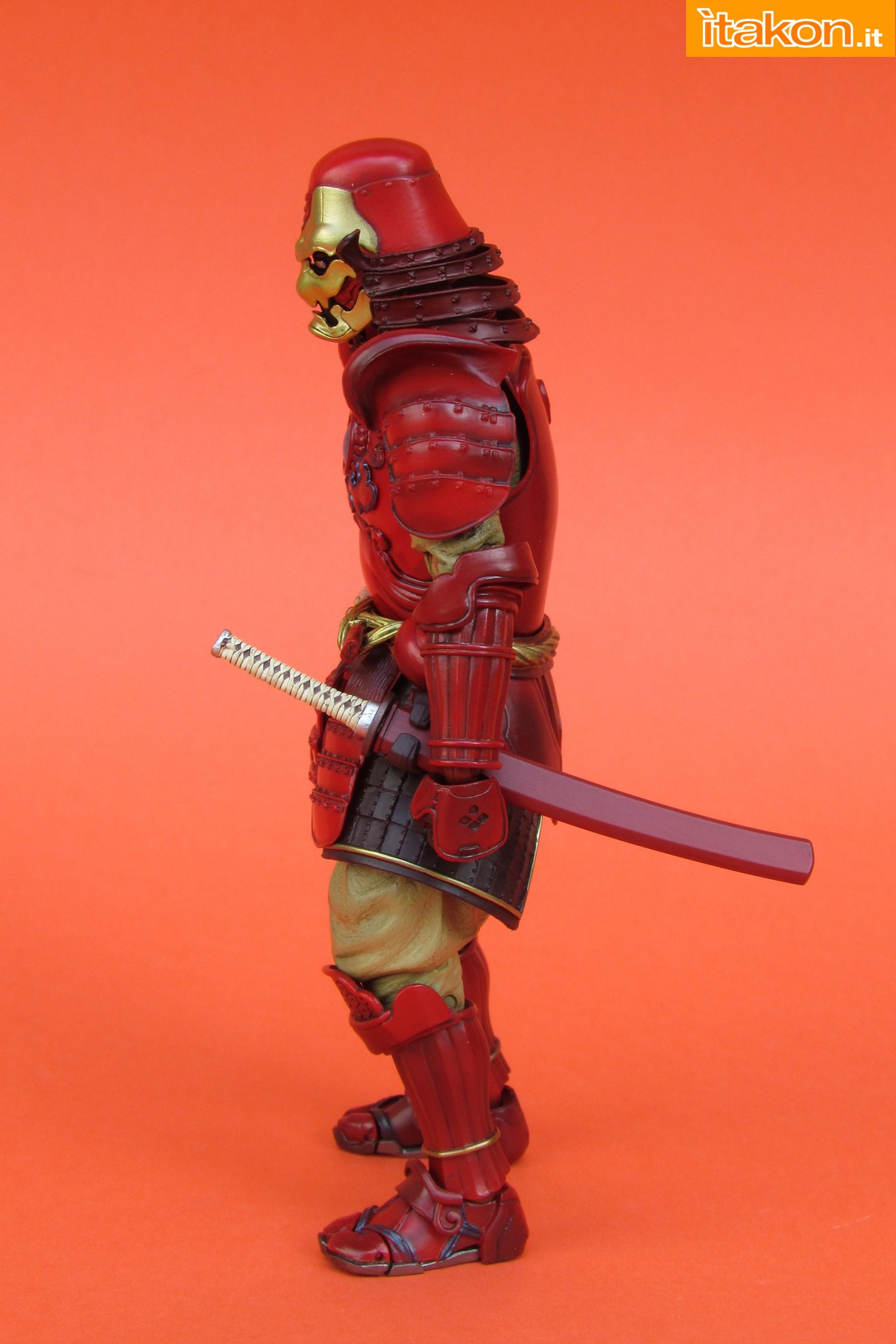 Link a Marvel Comics Koutetsu Samurai Iron Man Mark 3 Meishou MANGA REALIZATION review Bandai Itakon.it12