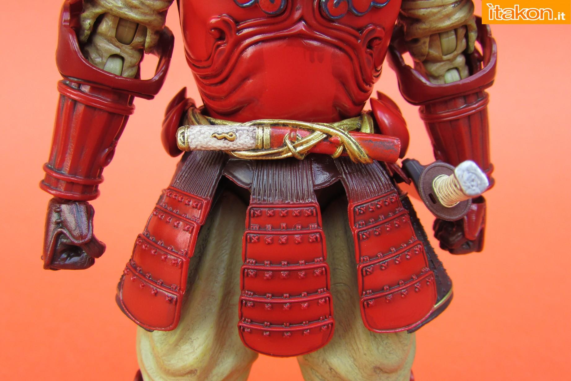 Link a Marvel Comics Koutetsu Samurai Iron Man Mark 3 Meishou MANGA REALIZATION review Bandai Itakon.it17