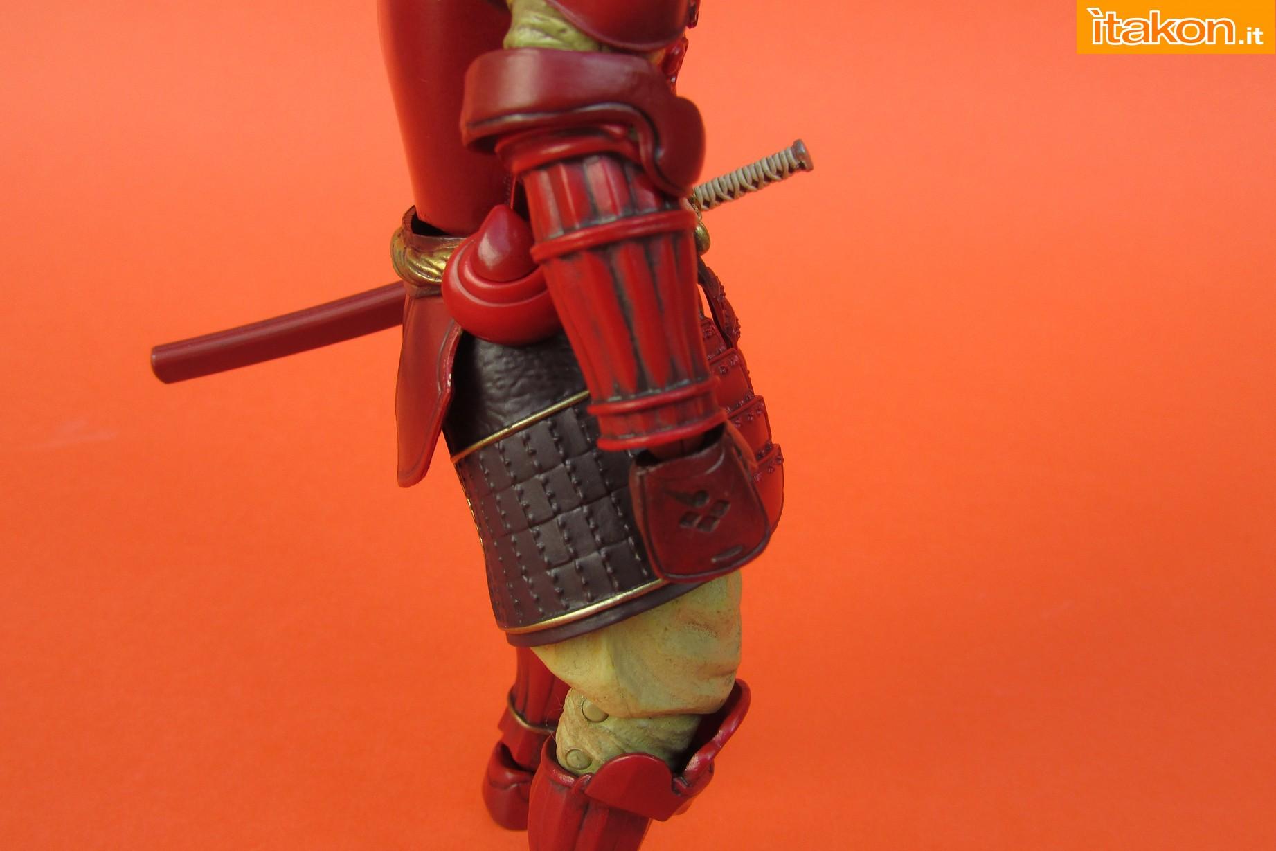 Link a Marvel Comics Koutetsu Samurai Iron Man Mark 3 Meishou MANGA REALIZATION review Bandai Itakon.it26