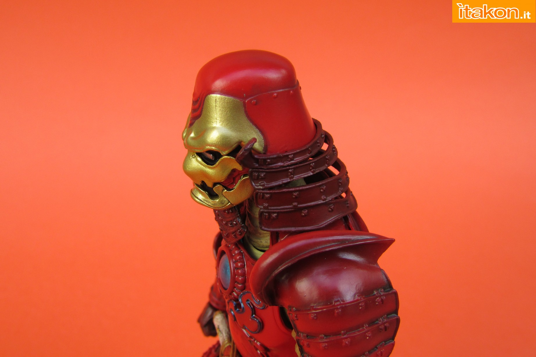 Link a Marvel Comics Koutetsu Samurai Iron Man Mark 3 Meishou MANGA REALIZATION review Bandai Itakon.it28