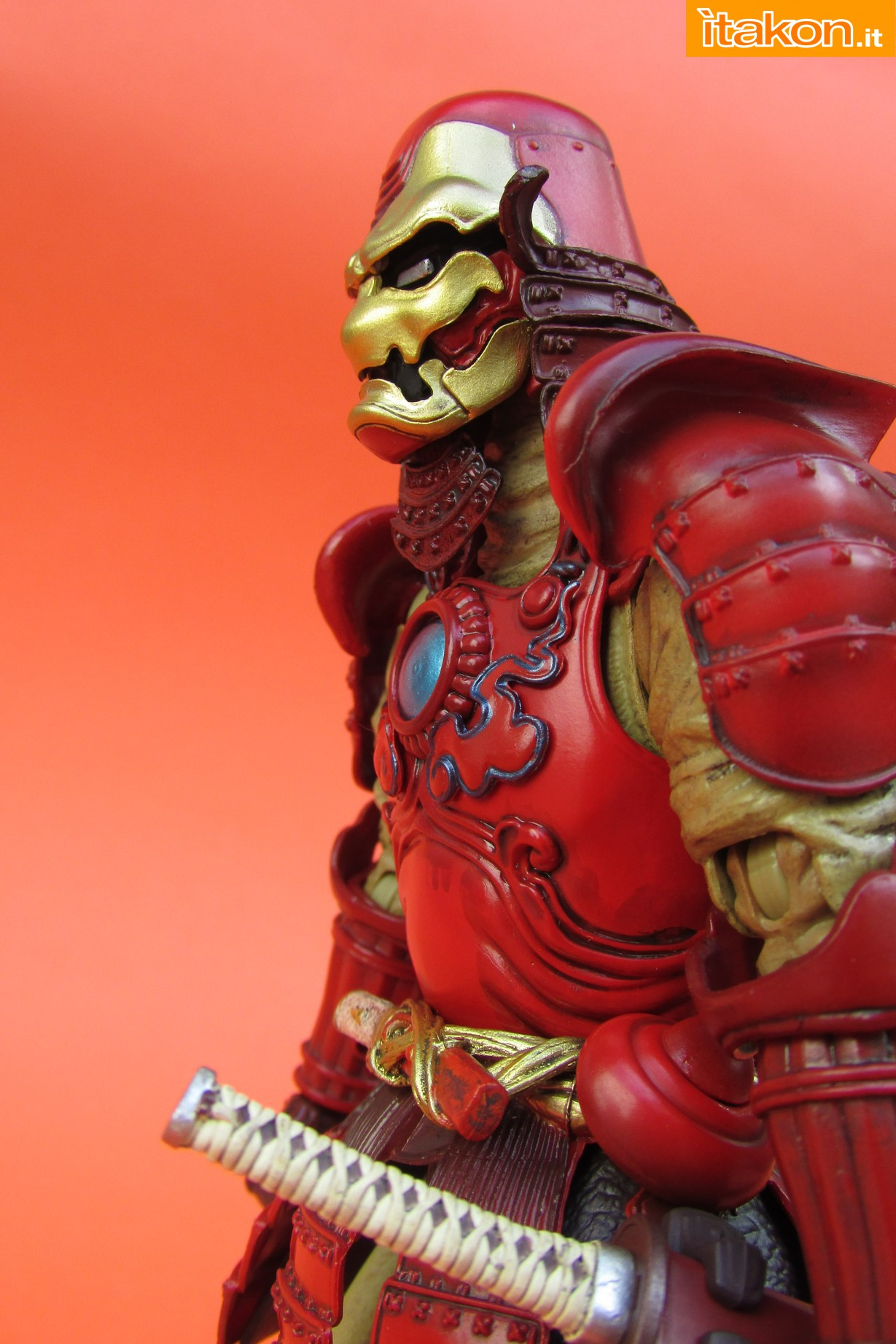 Link a Marvel Comics Koutetsu Samurai Iron Man Mark 3 Meishou MANGA REALIZATION review Bandai Itakon.it29