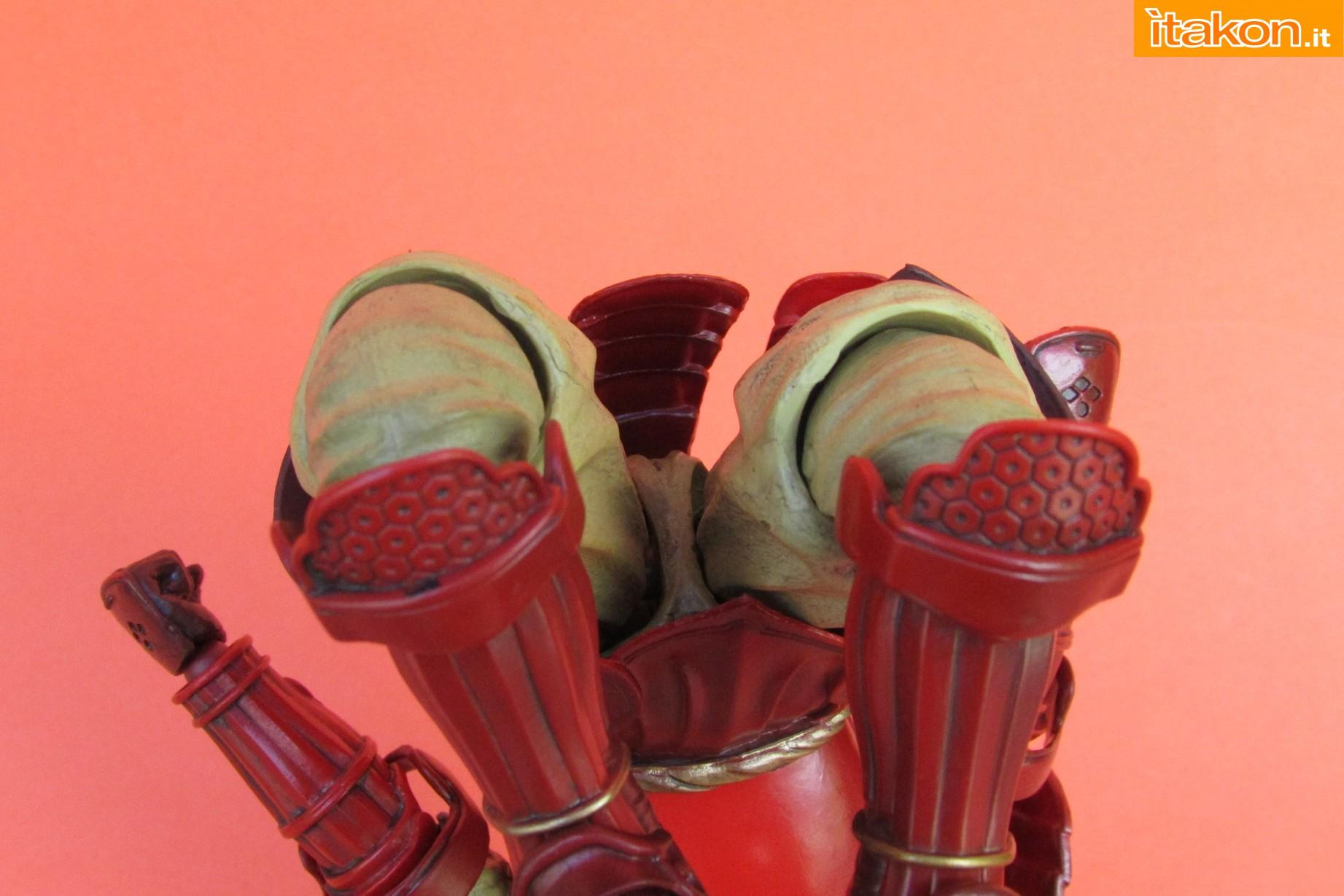 Link a Marvel Comics Koutetsu Samurai Iron Man Mark 3 Meishou MANGA REALIZATION review Bandai Itakon.it31
