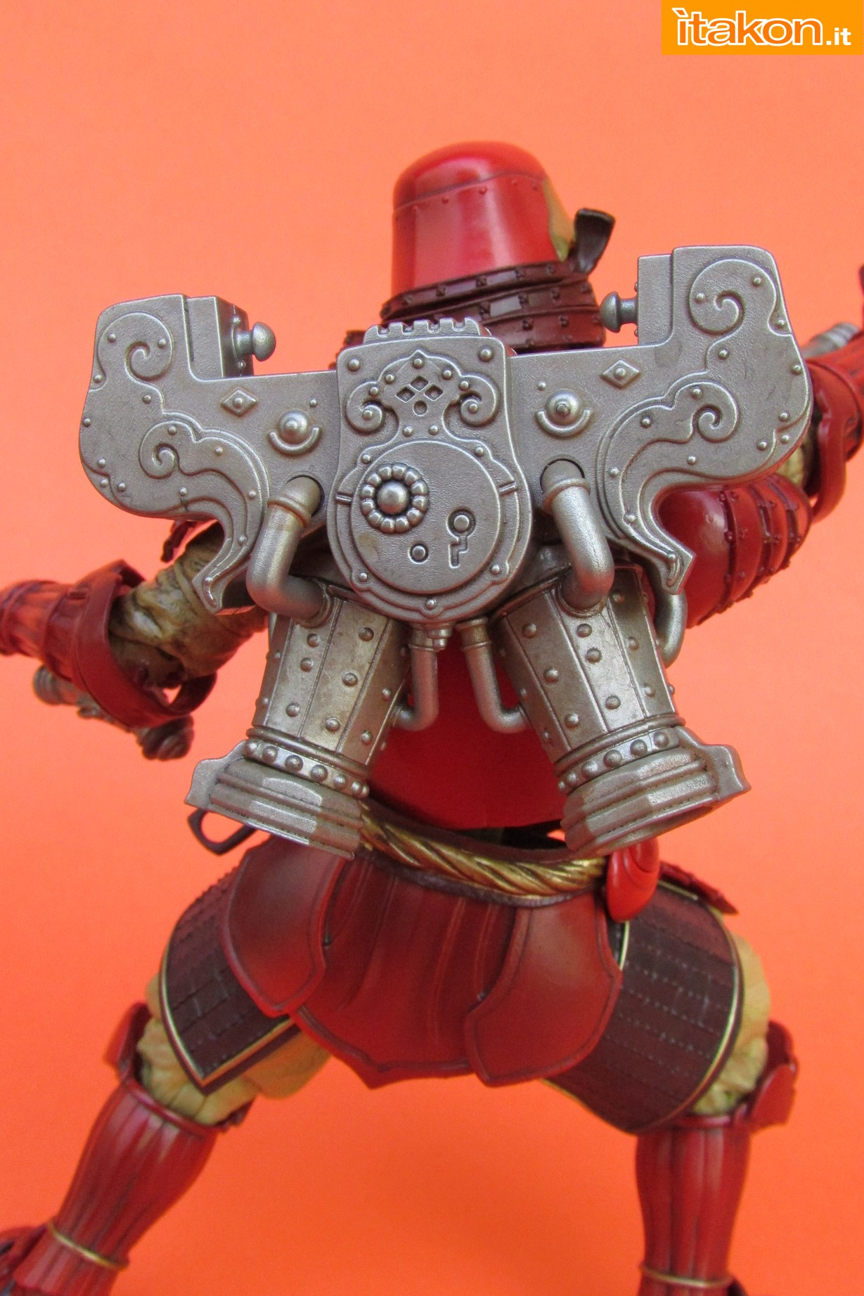 Link a Marvel Comics Koutetsu Samurai Iron Man Mark 3 Meishou MANGA REALIZATION review Bandai Itakon.it39