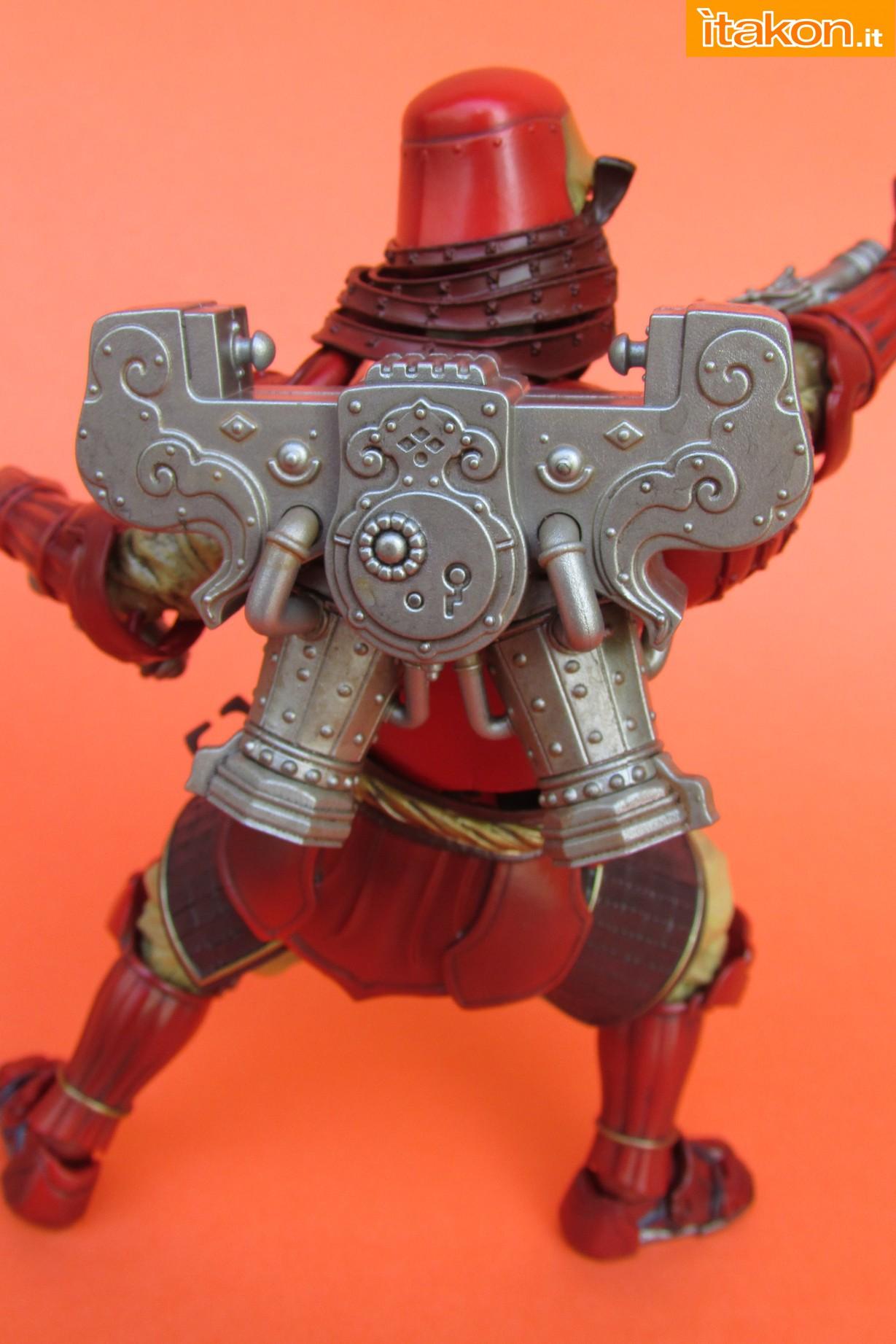 Link a Marvel Comics Koutetsu Samurai Iron Man Mark 3 Meishou MANGA REALIZATION review Bandai Itakon.it40