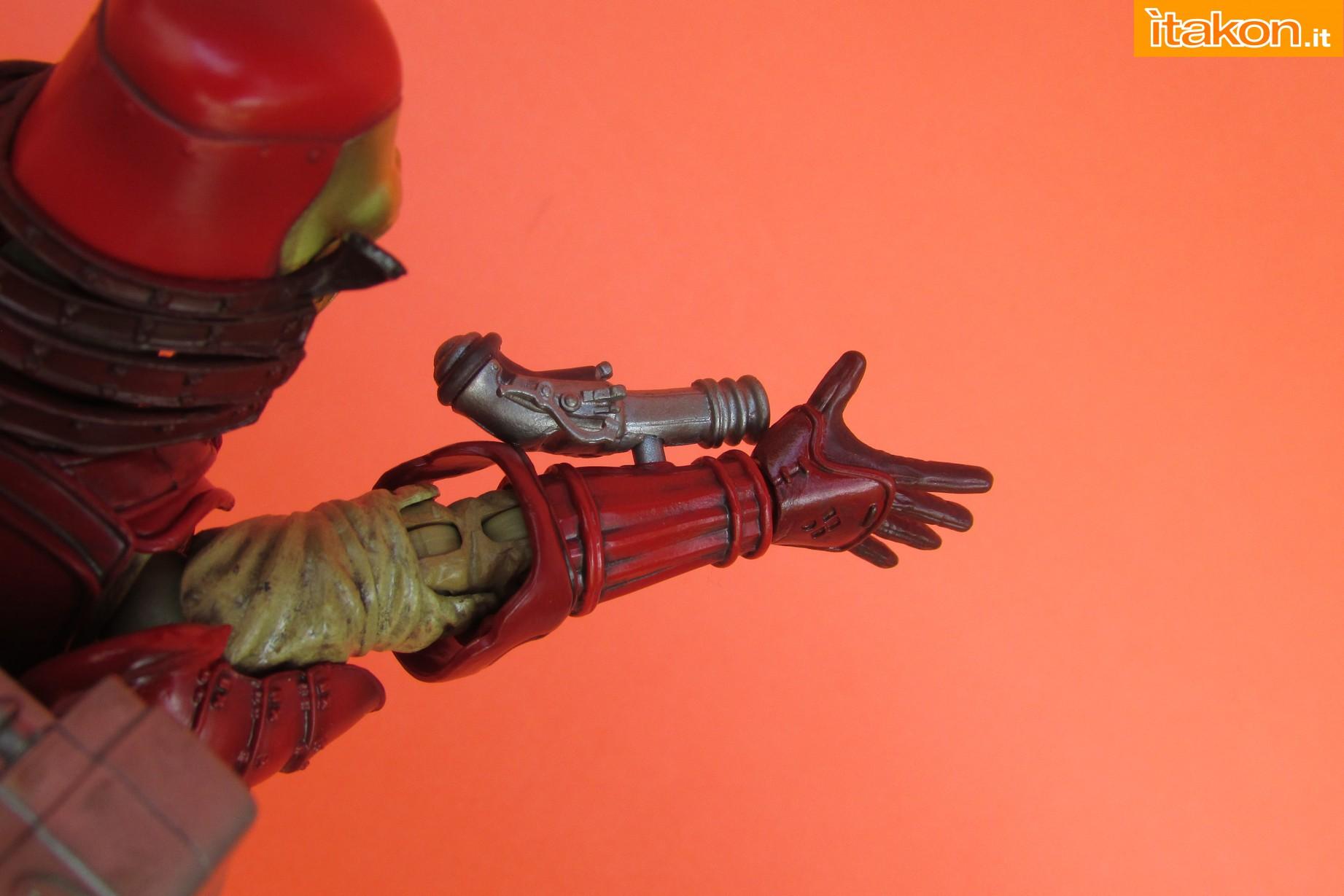 Link a Marvel Comics Koutetsu Samurai Iron Man Mark 3 Meishou MANGA REALIZATION review Bandai Itakon.it41