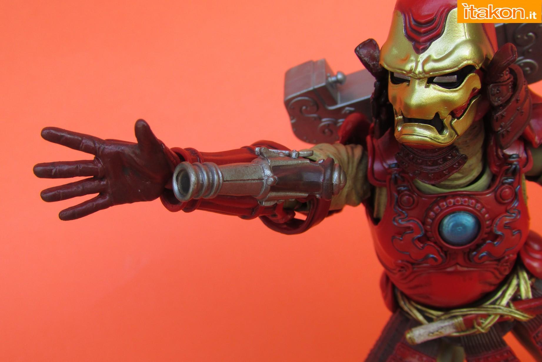Link a Marvel Comics Koutetsu Samurai Iron Man Mark 3 Meishou MANGA REALIZATION review Bandai Itakon.it42