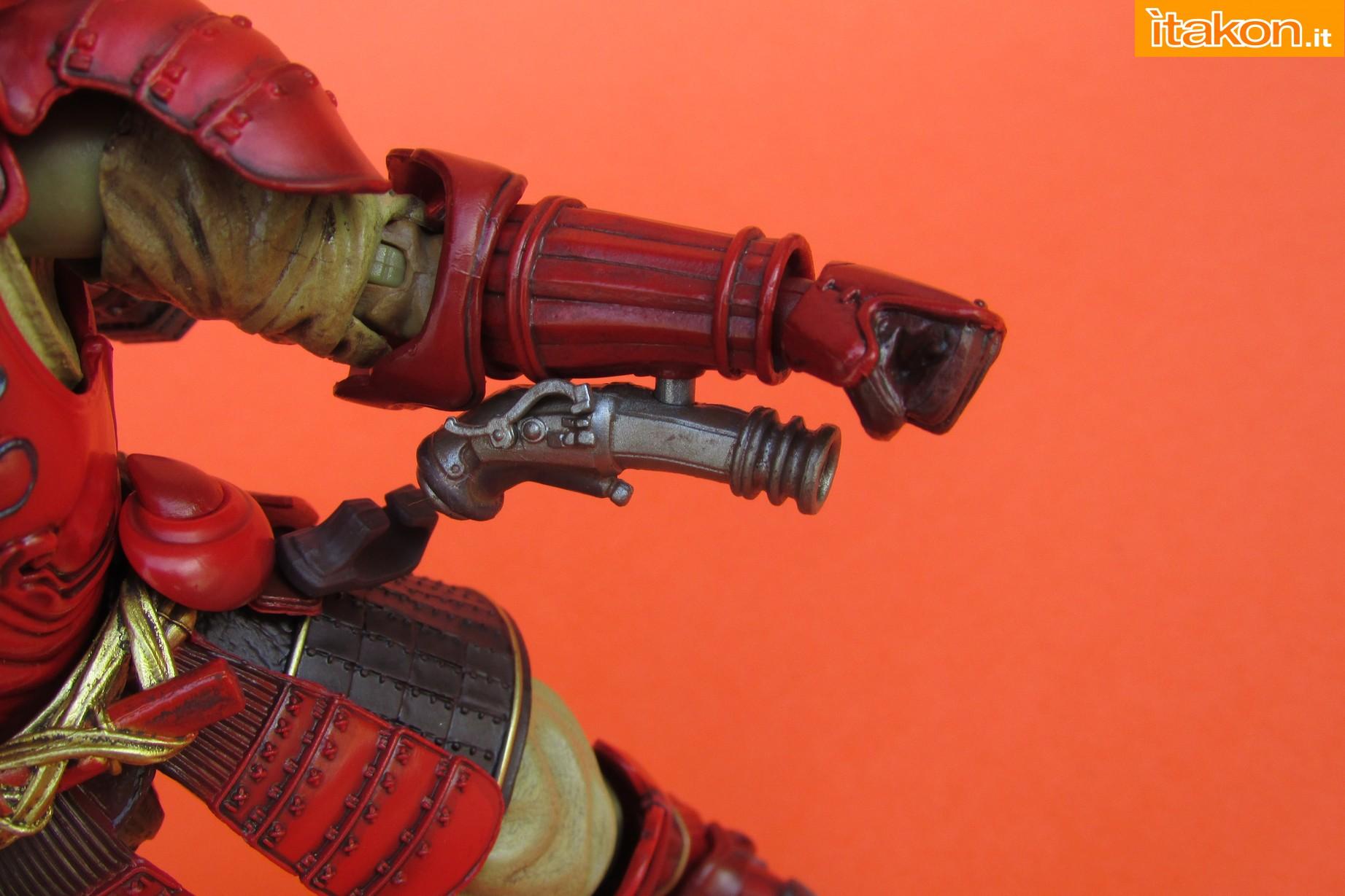 Link a Marvel Comics Koutetsu Samurai Iron Man Mark 3 Meishou MANGA REALIZATION review Bandai Itakon.it43