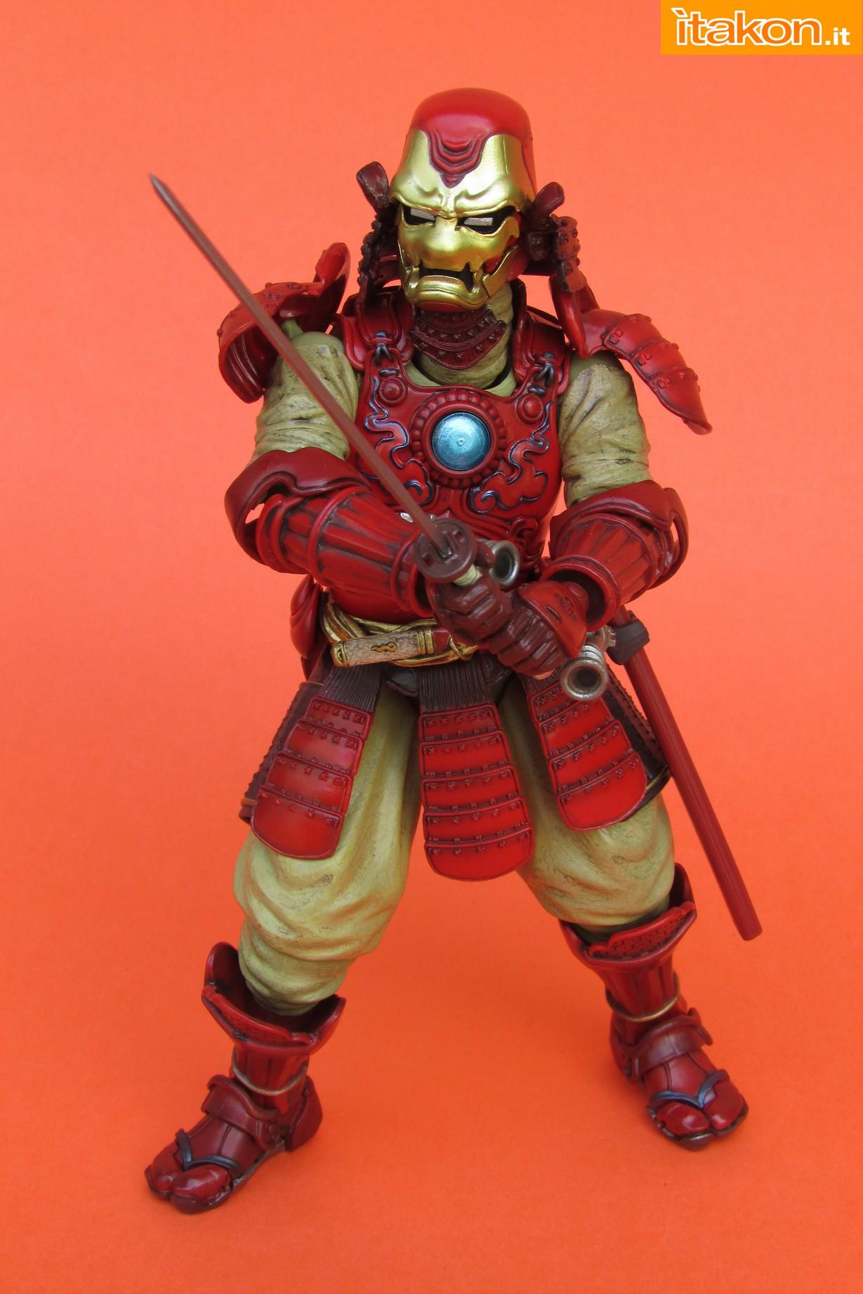 Link a Marvel Comics Koutetsu Samurai Iron Man Mark 3 Meishou MANGA REALIZATION review Bandai Itakon.it46