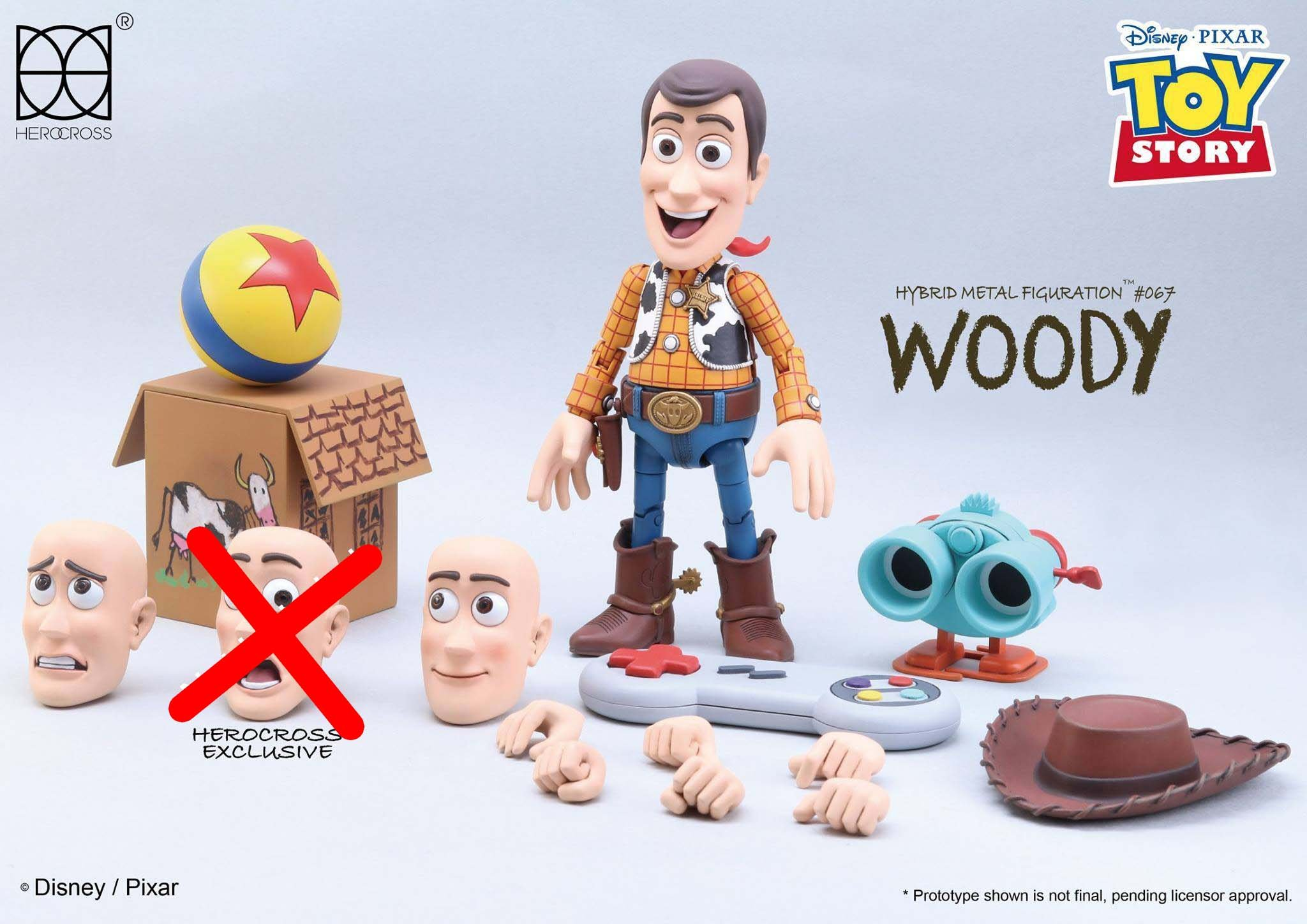 Link a Woody Toy Story Herocross 10