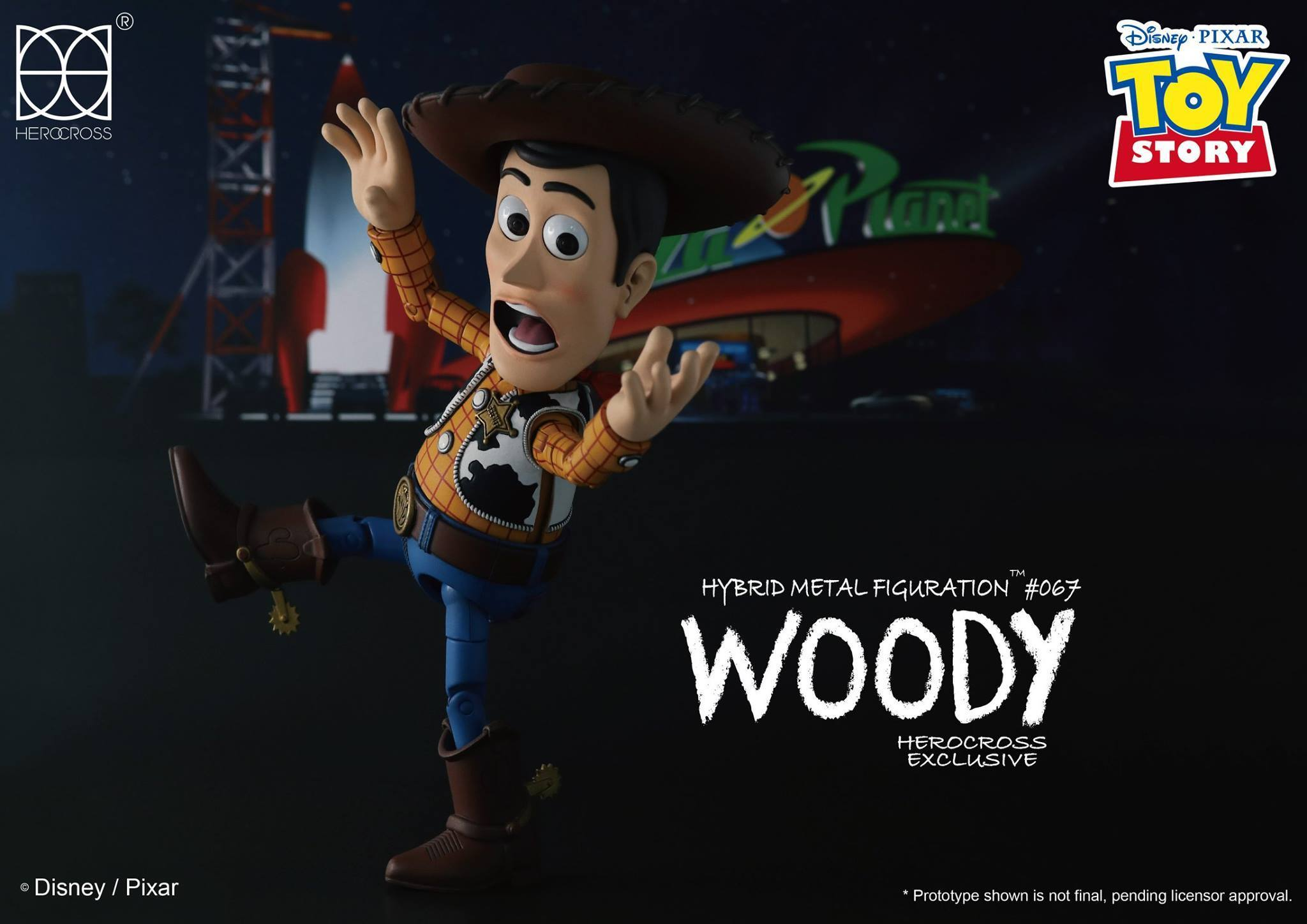 Link a Woody Toy Story Herocross 11