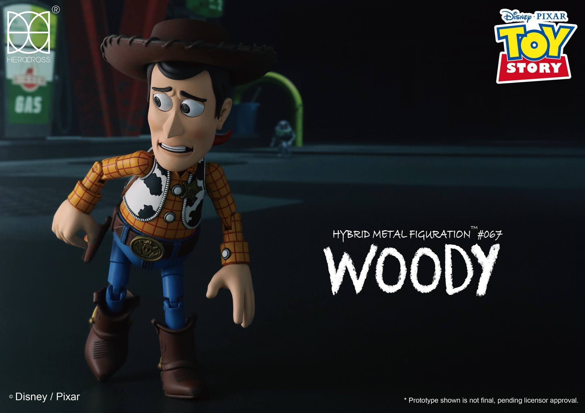 Link a Woody Toy Story Herocross 12
