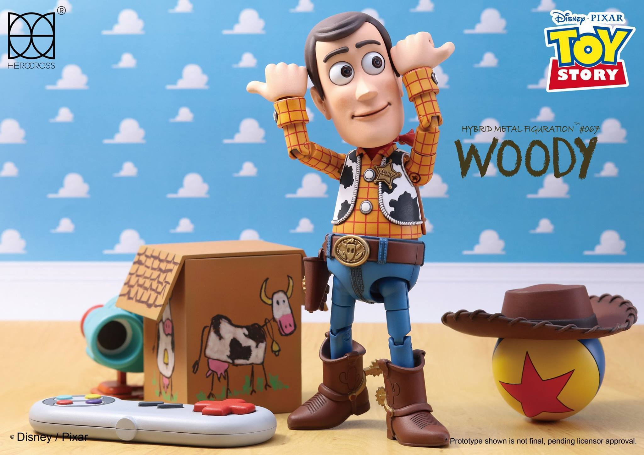 Link a Woody Toy Story Herocross 13