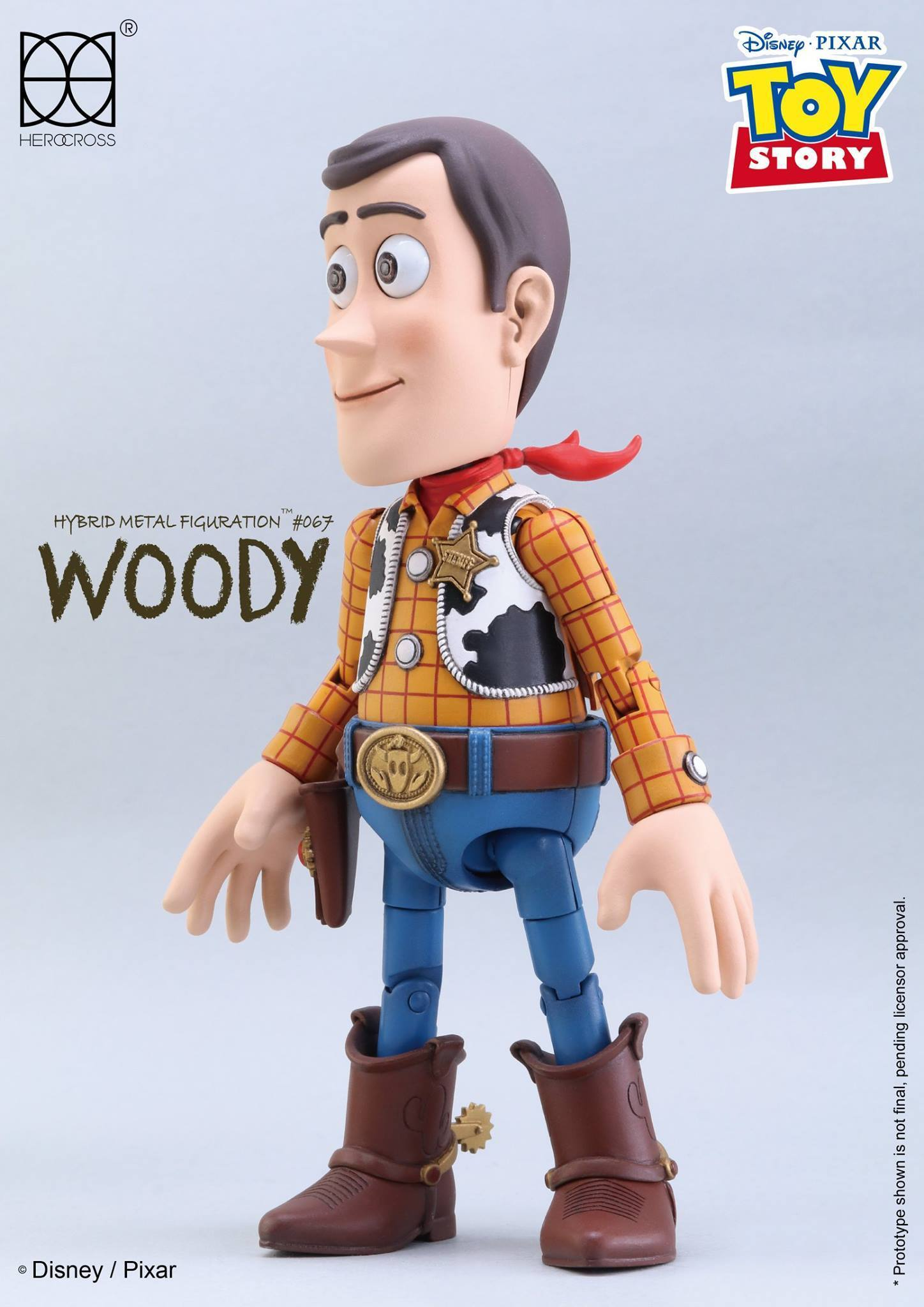 Link a Woody Toy Story Herocross 8