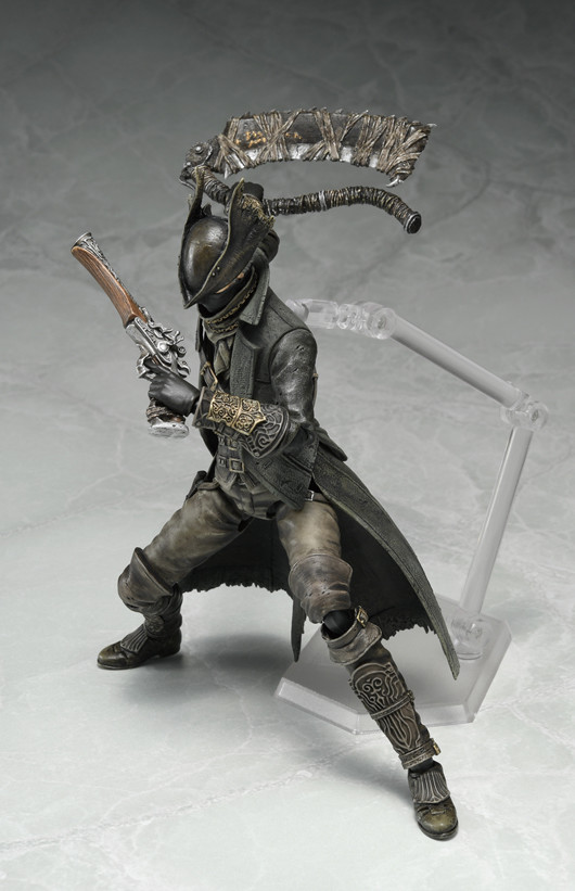 Link a figma Hunter Bloodborne Max Factory pics 04