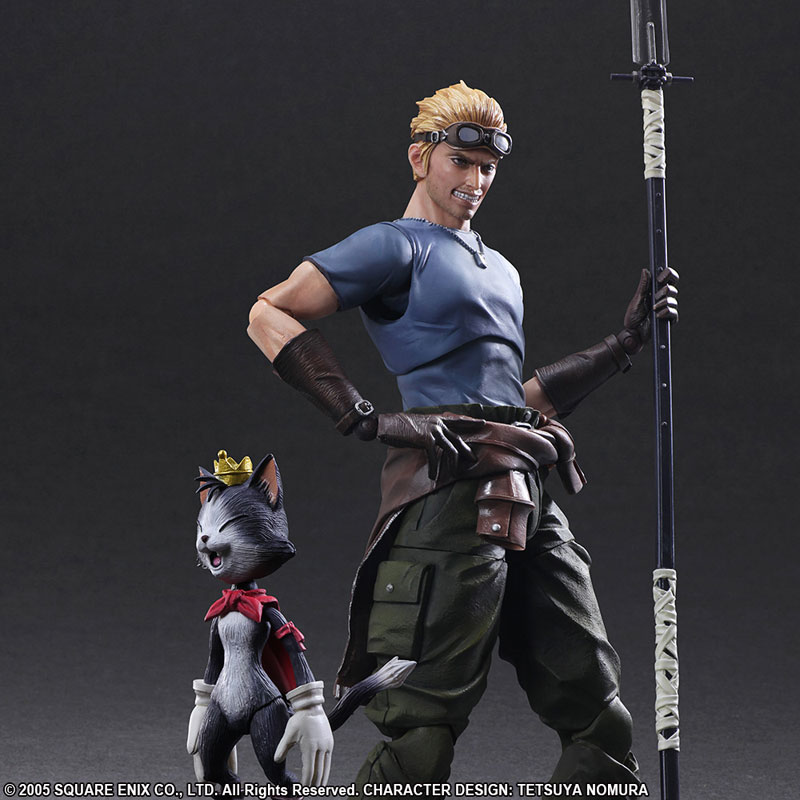 Link a Final Fantasy VII Advent Children Cid Highwind & Cait Sith Play Arts Kai Square Enix Itakon.it 05