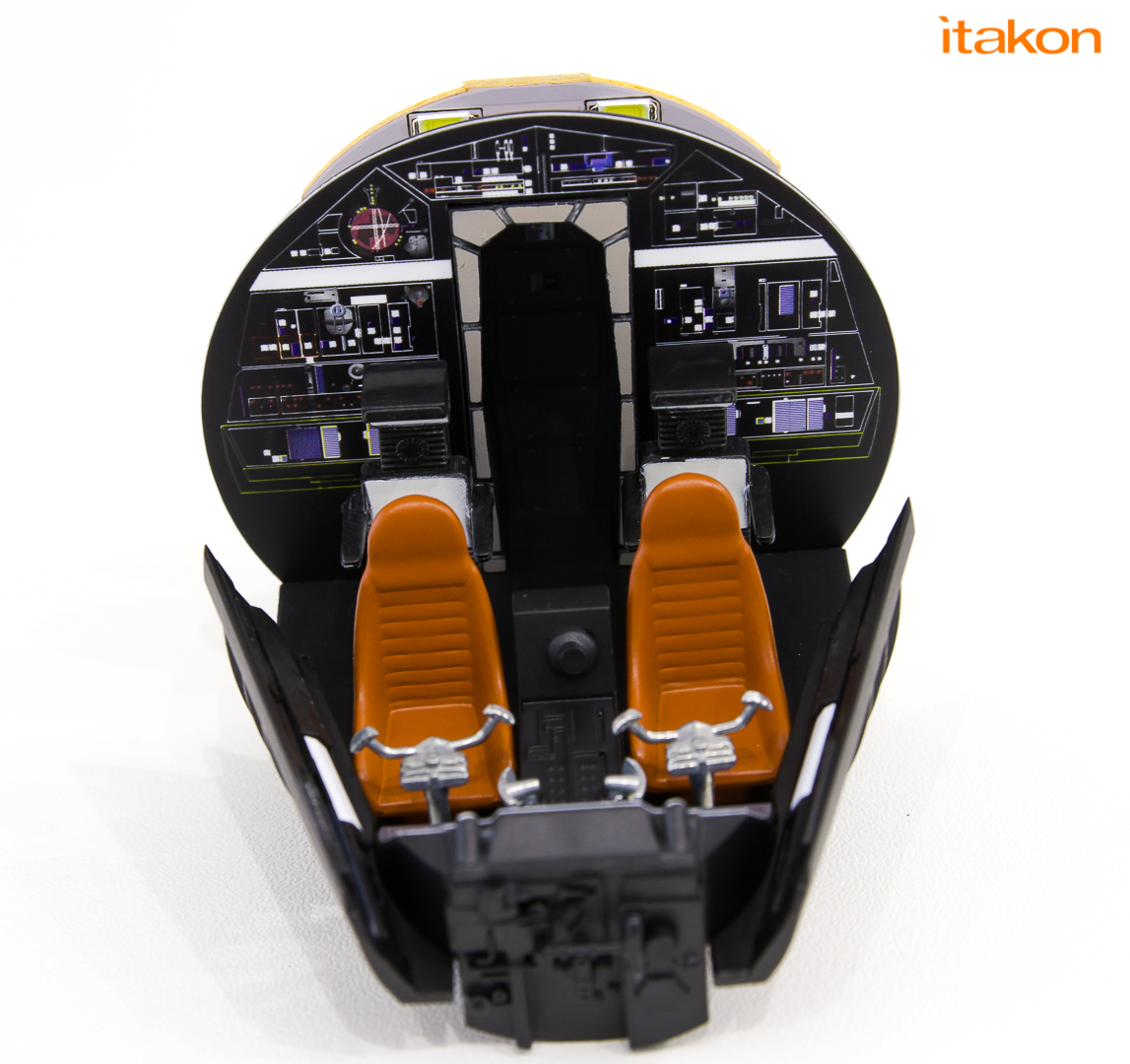 Link a De Agostini ModelSpace Millenniun Falcon Itakon Anktales-7