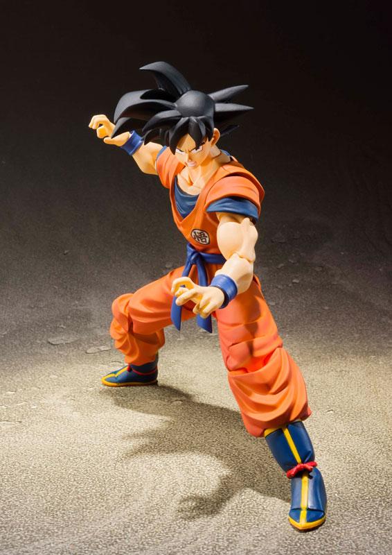 Link a Dragon Ball Z Son Goku Saiyan Grown on Earth S.H. Figuarts Bandai Itakon.it 3