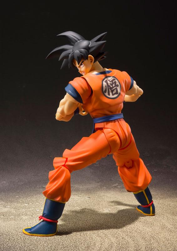 Link a Dragon Ball Z Son Goku Saiyan Grown on Earth S.H. Figuarts Bandai Itakon.it 4