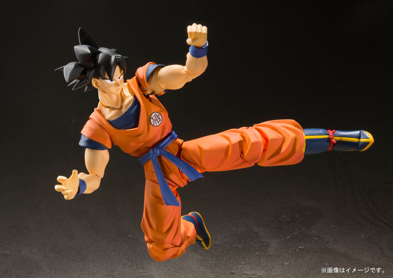 Link a Dragon Ball Z Son Goku Saiyan Grown on Earth S.H. Figuarts Bandai Itakon.it 6
