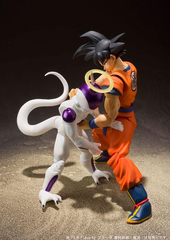 Link a Dragon Ball Z Son Goku Saiyan Grown on Earth S.H. Figuarts Bandai Itakon.it 7