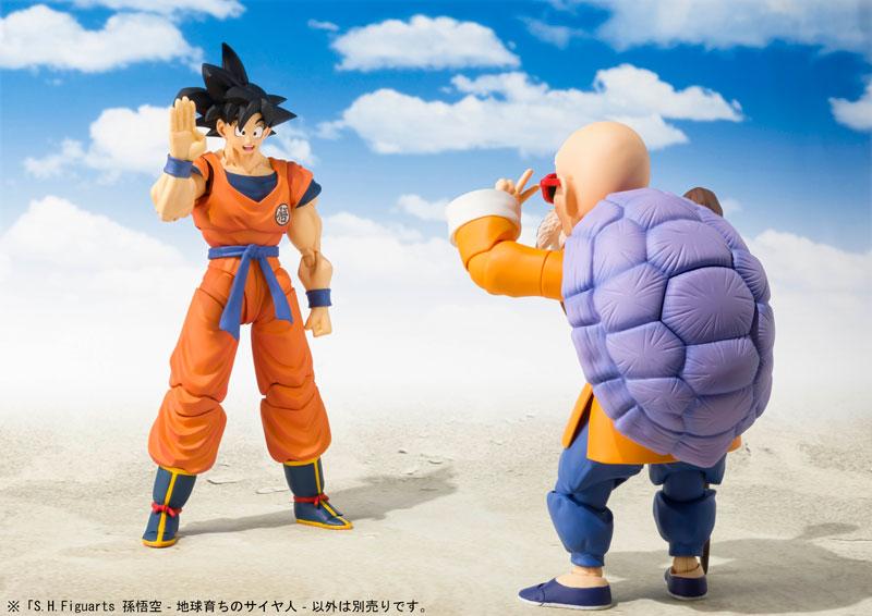 Link a Dragon Ball Z Son Goku Saiyan Grown on Earth S.H. Figuarts Bandai Itakon.it 8