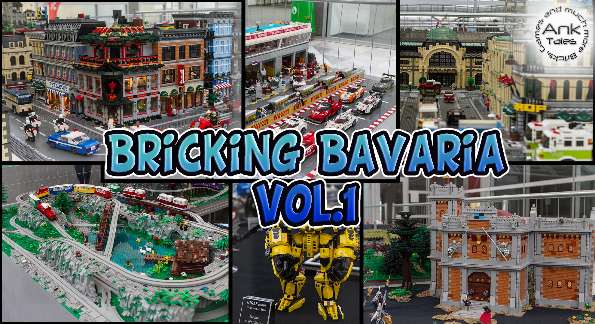 Link a LEGO Fan Exhibition – Complete Tour of Bricking Bavaria 2017 Vol.1 AnkTales