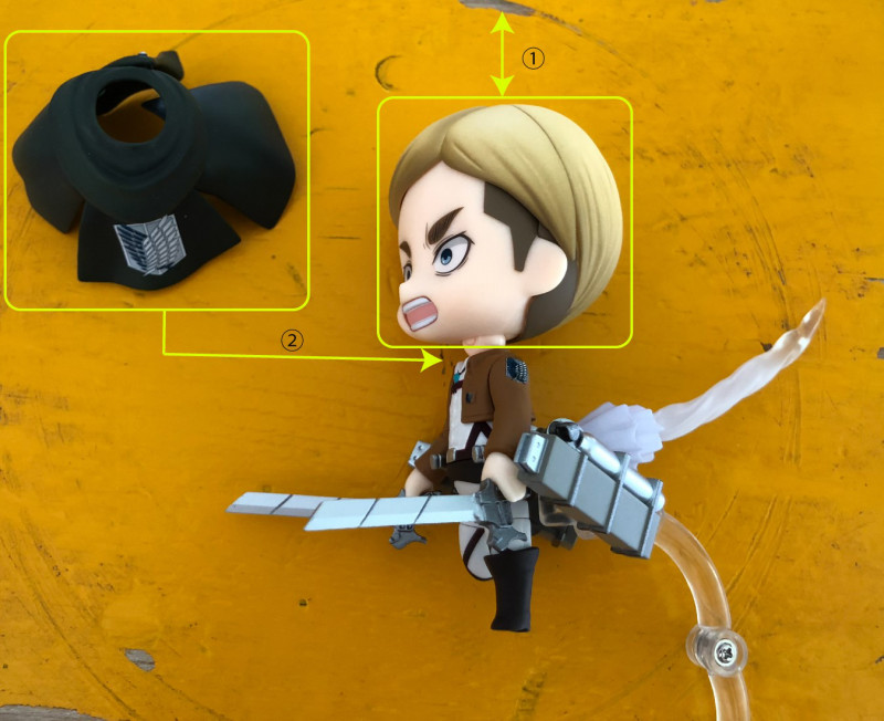 Link a Nendoroid Erwin Smith boxed 06