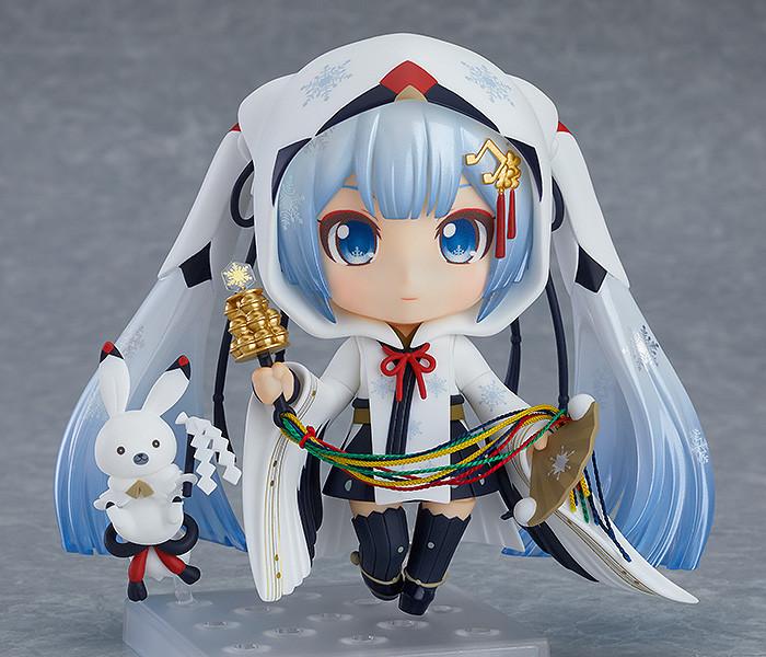 Link a Nendoroid Snow Miku Crane Priestess GSC info 01