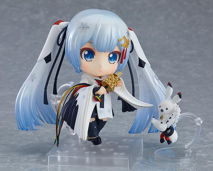Link a Nendoroid Snow Miku Crane Priestess GSC info 04