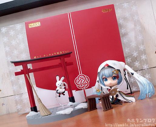 Link a Nendoroid Snow Miku Crane Priestess GSC preview 17
