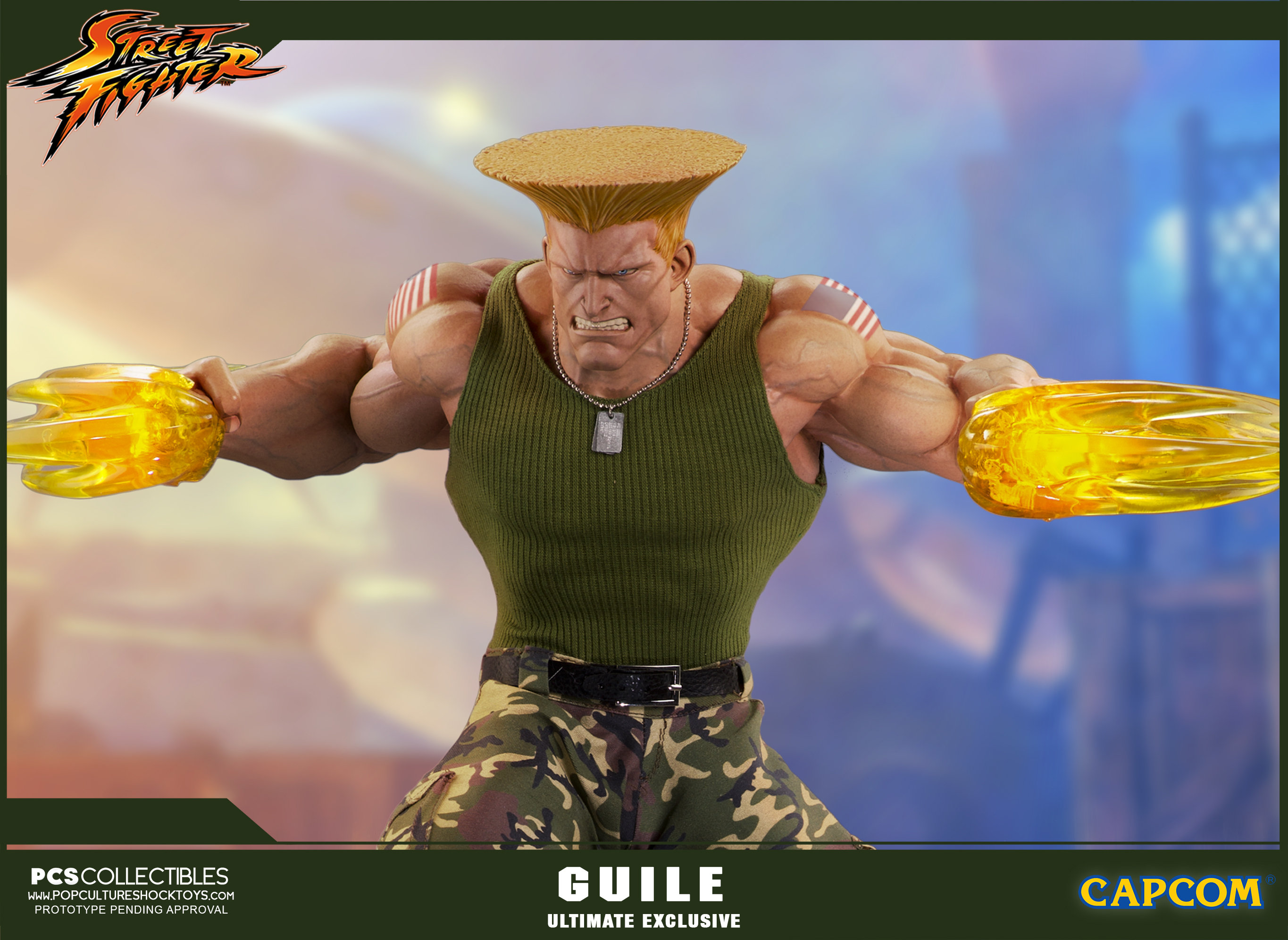 Link a PCS-Street-Fighter-Guile-Ultimate-Statue