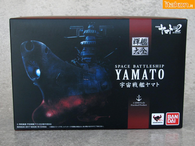 Link a 001 Space Battleship Yamato Bandai recensione