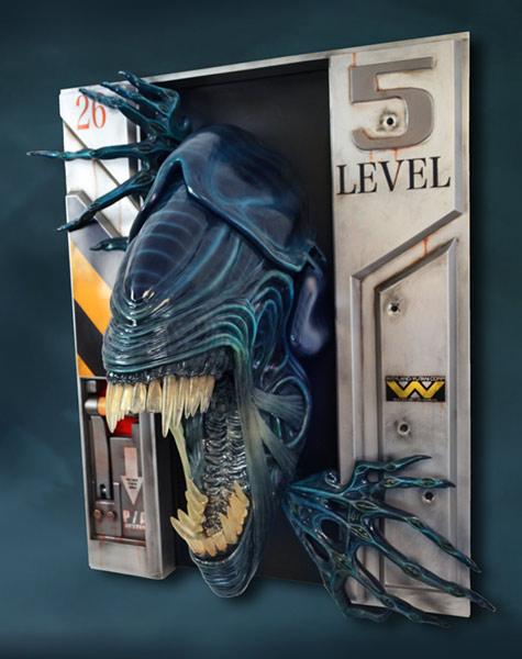 Link a HCG-Alien-Queen-Wall-Sculpture-006