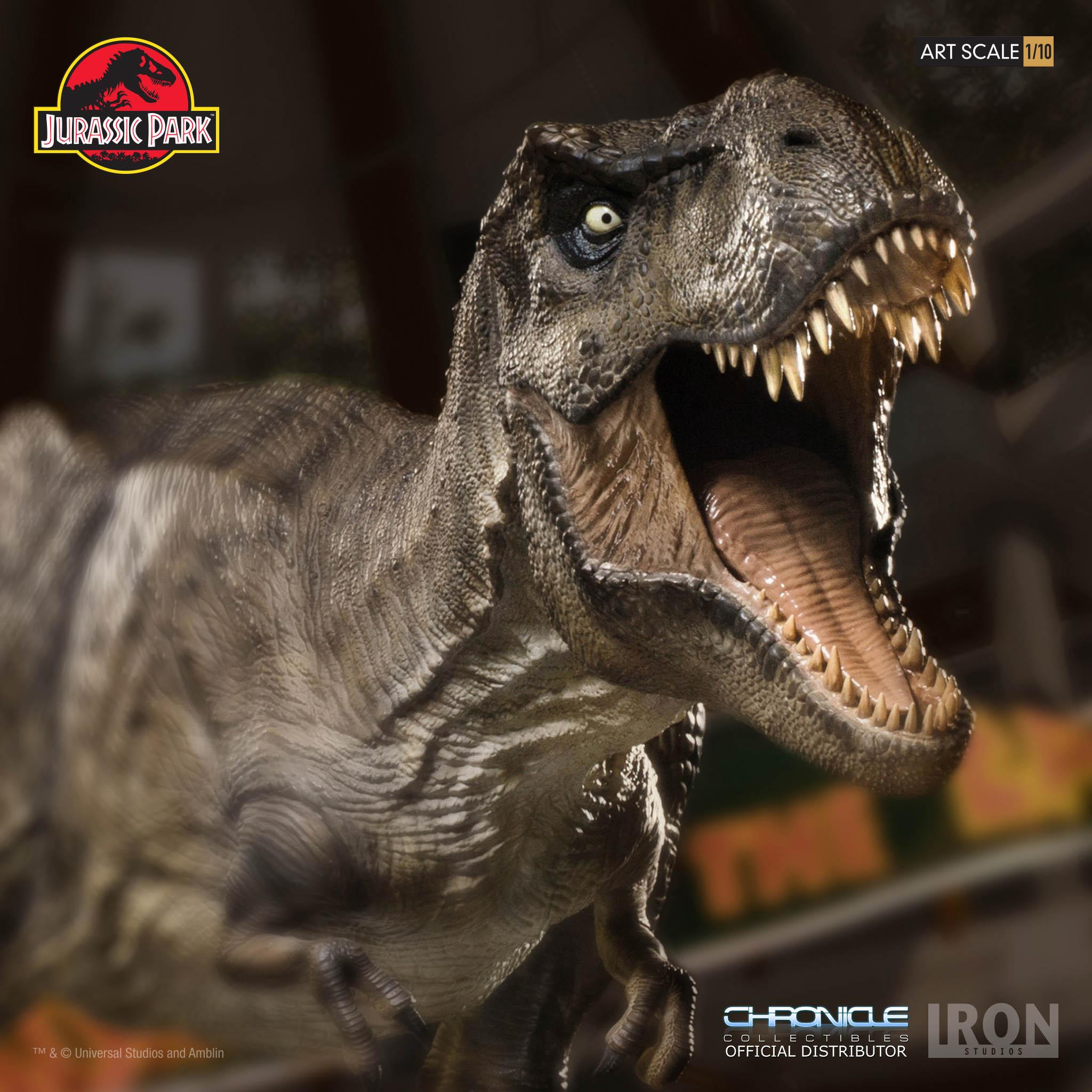 Link a Iron-Studios-T-Rex-Statue-012