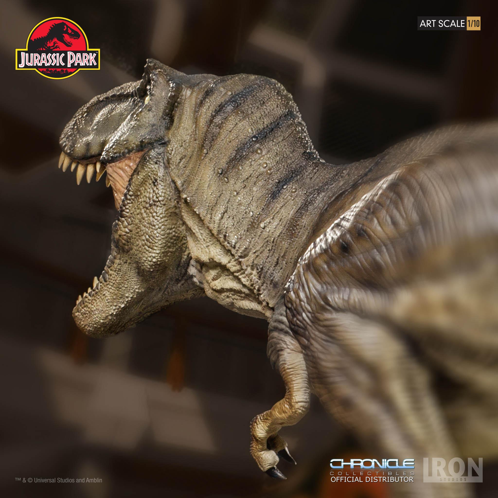 Link a Iron-Studios-T-Rex-Statue-014