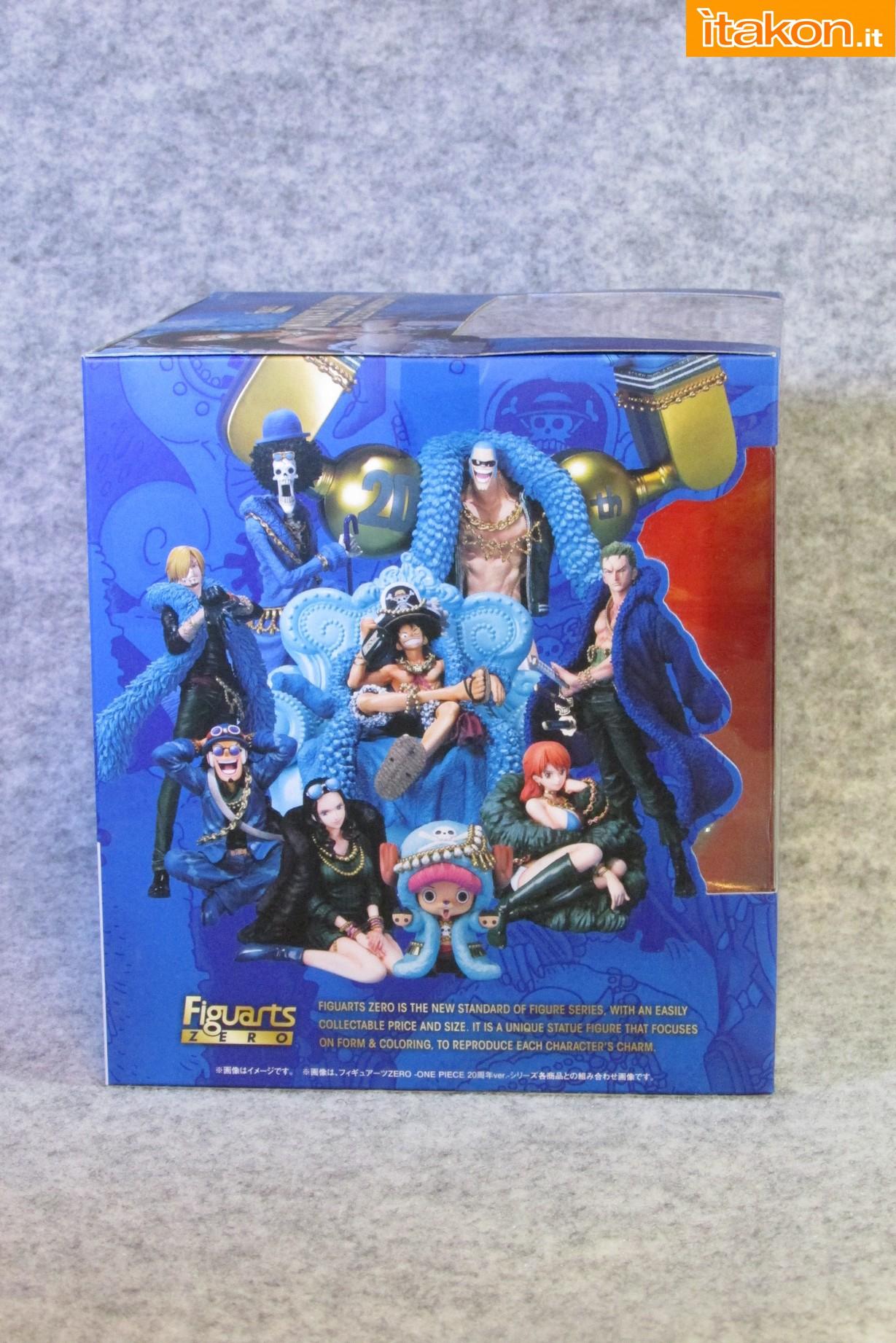 Link a Recensione Review Monkey D. Luffy One Piece 20th Anniversary ver. Figuarts ZERO di Bandai 03