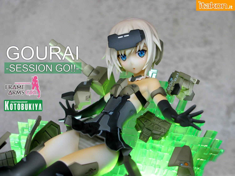 Link a 000 Gourai Frame Arms Girl Kotobukiya recensione