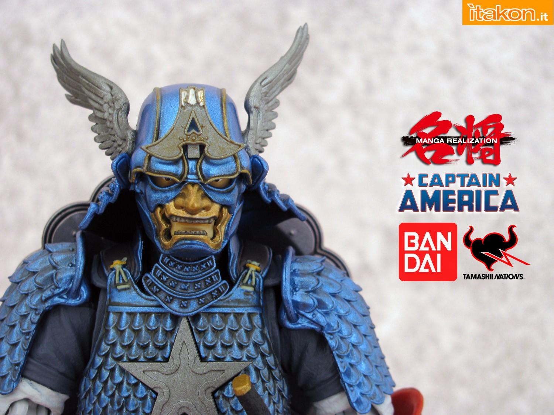 Link a 000 Samurai Captain America Manga Realization Bandai recensione