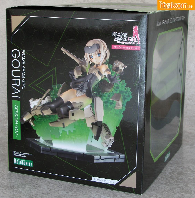 Link a 002 Gourai Frame Arms Girl Kotobukiya recensione