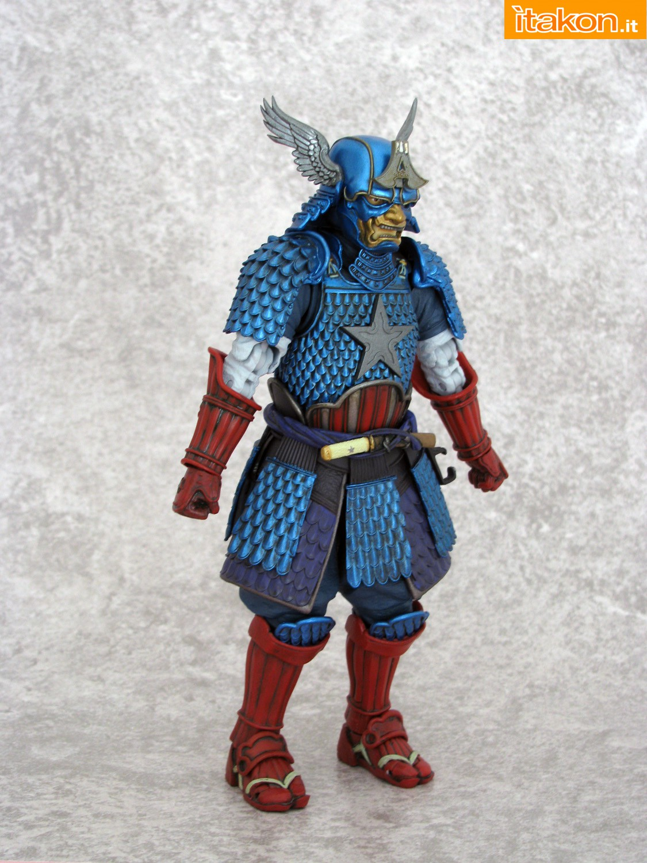 Link a 011 Samurai Captain America Manga Realization Bandai recensione