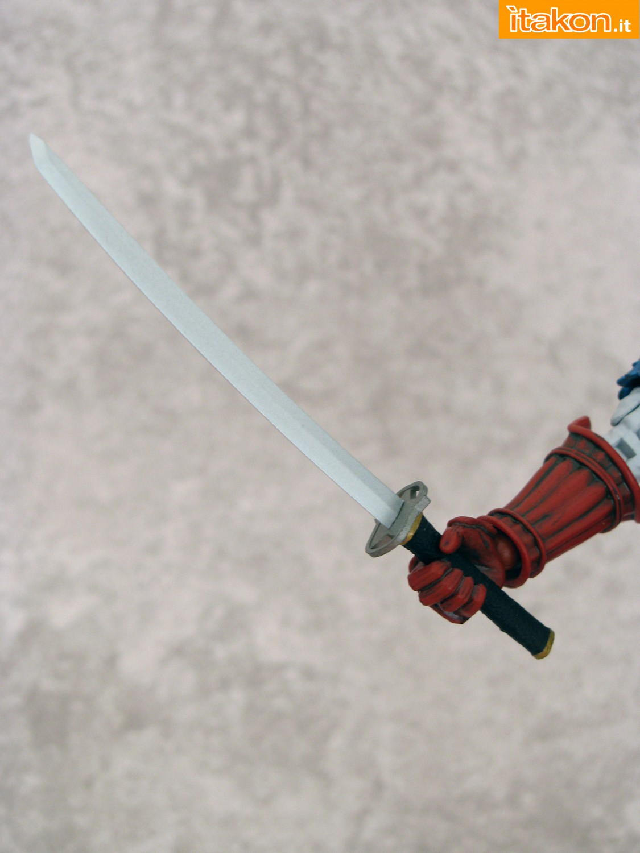 Link a 025 Samurai Captain America Manga Realization Bandai recensione