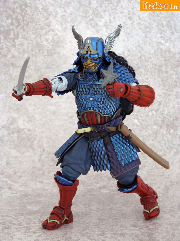 Link a 034 Samurai Captain America Manga Realization Bandai recensione