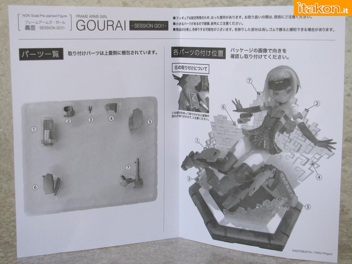 Link a 052 Gourai Frame Arms Girl Kotobukiya recensione