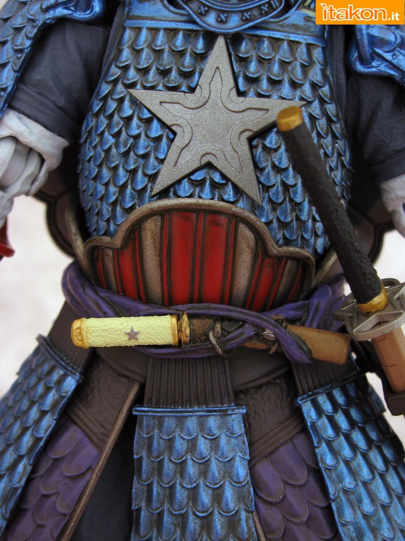Link a 054 Samurai Captain America Manga Realization Bandai recensione