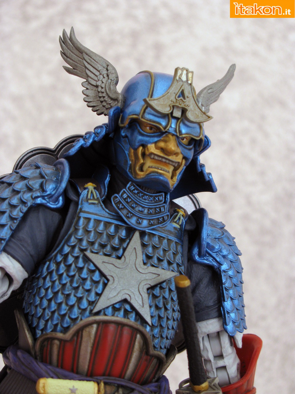 Link a 063 Samurai Captain America Manga Realization Bandai recensione
