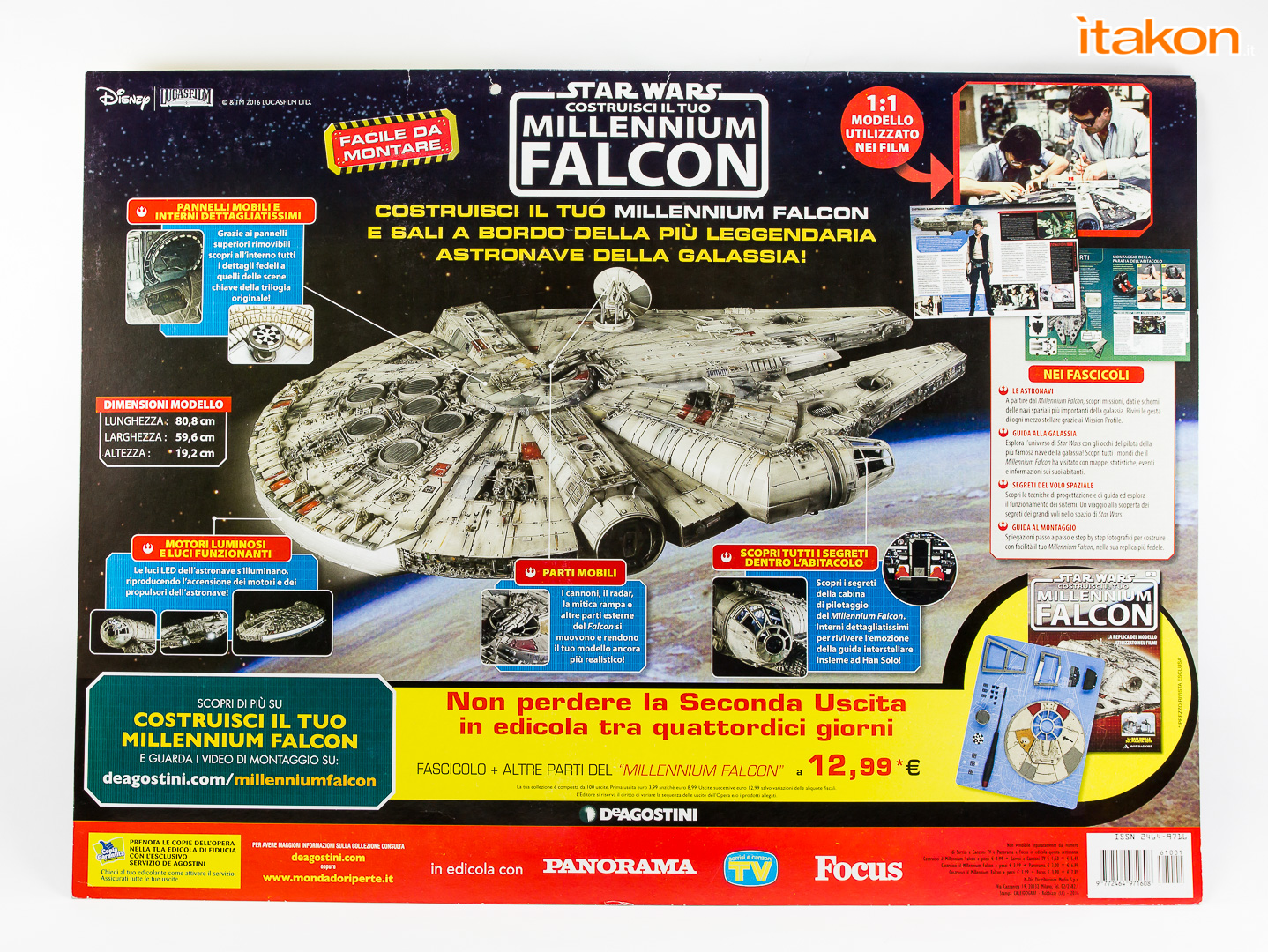 Link a De Agostini ModelSpace Millenniun Falcon Itakon Anktales-2