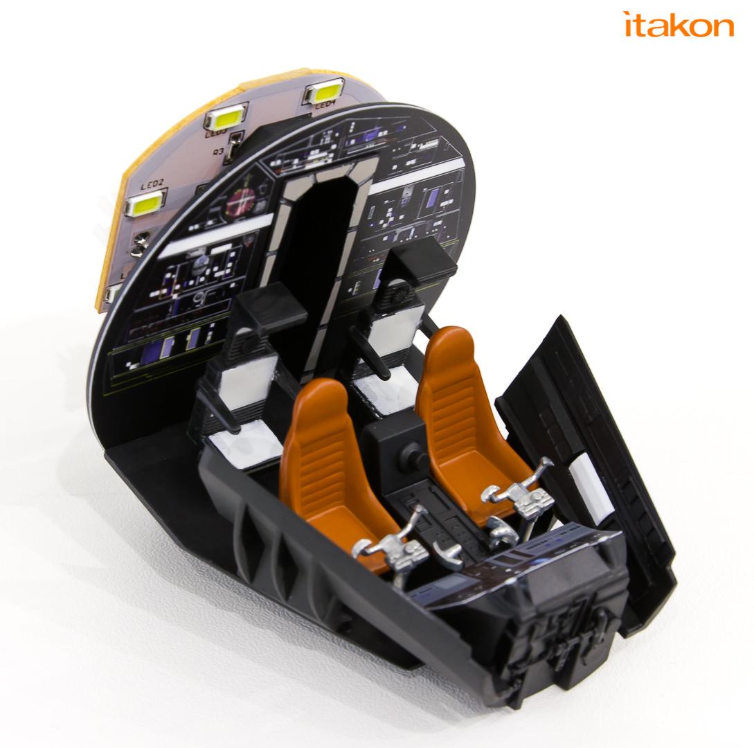 Link a De Agostini ModelSpace Millenniun Falcon Itakon _09