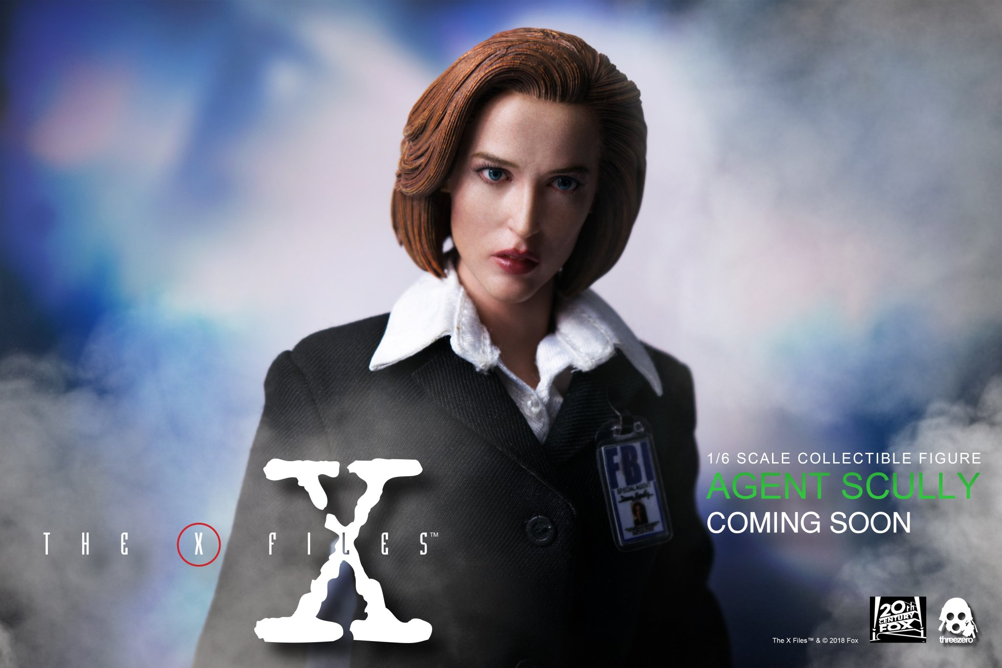 Link a ThreeZero-Scully-Preview
