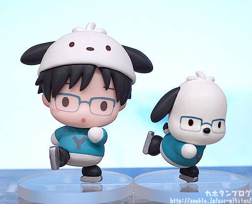 Link a Yuri on ICE x Sanrio Characters GSC pics 04