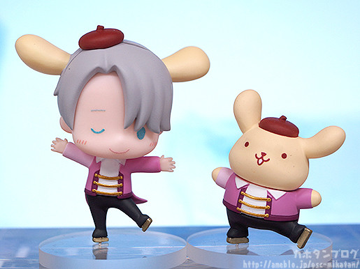 Link a Yuri on ICE x Sanrio Characters GSC pics 06